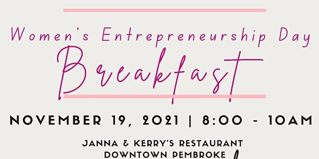 Women's Entrepreneurship Day Networking Breakfast tickets