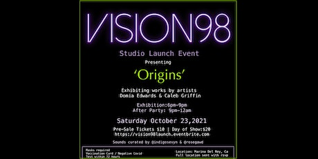 Vision98 Studios Launch Event tickets