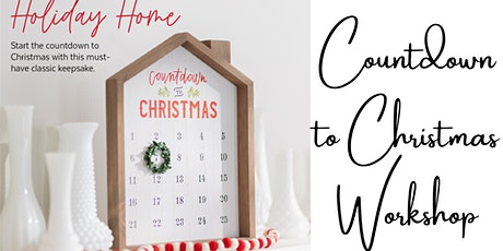 Holly Jolly Holiday Market Craft Workshop: Christmas Countdown with Mel tickets
