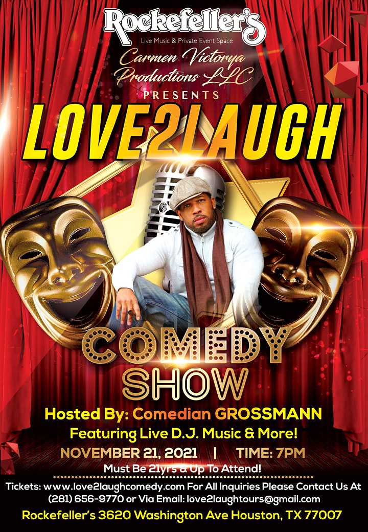 Love2Laugh Comedy Show! image