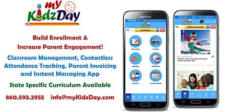 Parent Communication, Attendance/Meals Tracking & Center Management App tickets