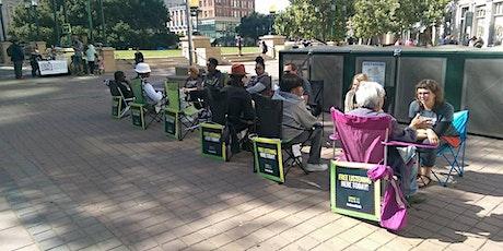 Sidewalk Talk -  Outside of  Hub Coffee Roasters  @ Riverside Dr tickets