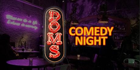 Dom's Brickell Comedy Night entradas
