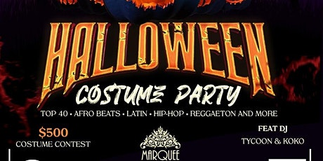 AFRO CITY: HALLOWEEN COSTUME PARTY tickets