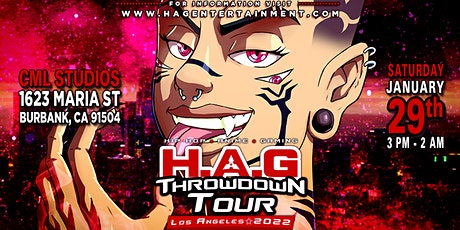Throw Down Party Tour - Los Angeles 2022 tickets