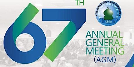 Islamic Society of SA 67th Annual General Meeting tickets