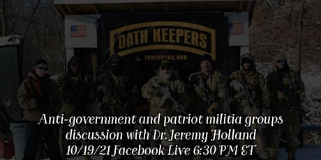 """The Rise of """"Patriot"""" Militia Groups Discussion tickets"""