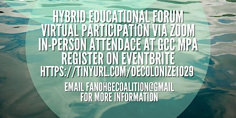 Breaking the Chains: Decolonization & Climate Action tickets