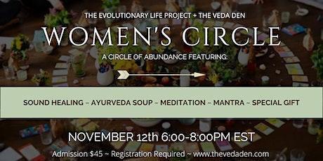 Women's Circle: A Circle of Abundance tickets