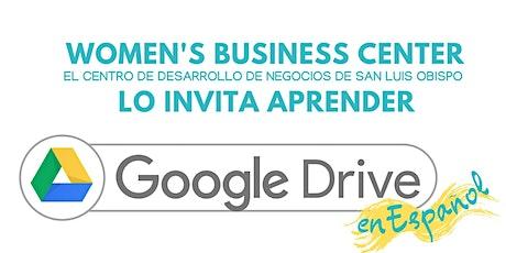 Google Drive en Español tickets