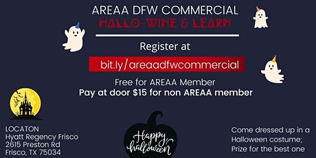 AREAA  DFW Commercial Event tickets