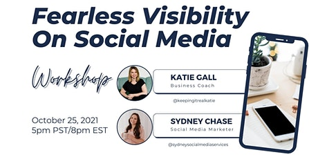 Fearless Visibility On Social Media tickets