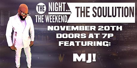The SOULutions Band presents a night with MJ! tickets