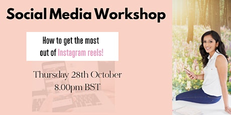 How to get the most out of Instagram reels! tickets