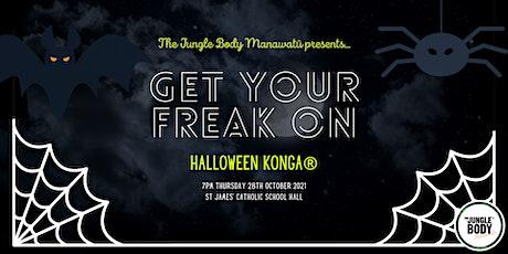 'GET YOUR FREAK ON' HALLOWEEN KONGA® by The Jungle Body Manawatū tickets