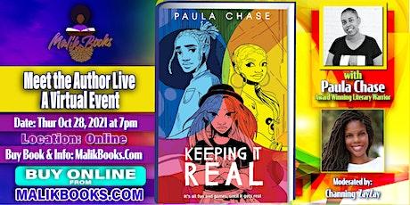 Virtual Box Seats with Author Paula Chase - Literary Warrior tickets