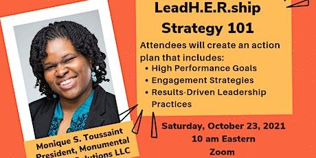 LeadH.E.R.ship Strategy 101 tickets