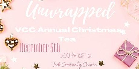 """Unwrapped"" Women's Community Christmas Tea tickets"