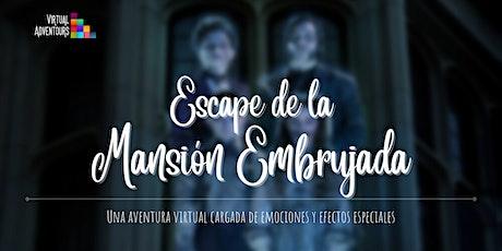 Escape de la Mansión Embrujada | 30 Octubre 21:00h entradas