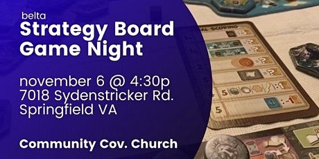 DMV Beta Strategy Board Game Night - Open to All and Free tickets