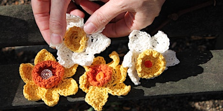 Daffodil Flower Crochet and/ or Sew Workshop tickets