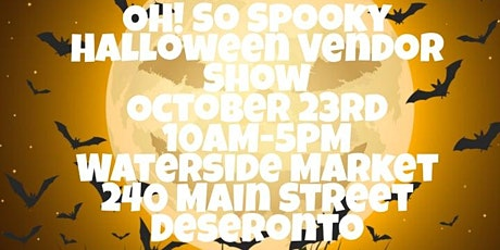 OH! So Spooky Halloween Vendor Show tickets