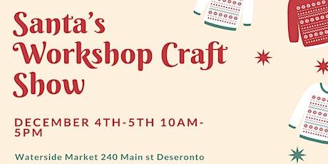 Santa's Workshop Craft Show tickets