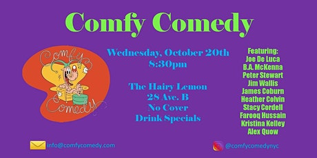 Comfy Comedy tickets