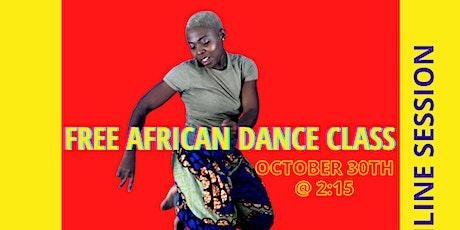 Free Online Afrobeats( All level dancers) tickets