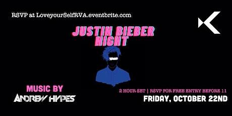 Justin Bieber Night at Kabana Rooftop tickets