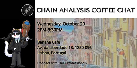 Chain Analysis Coffee Break bilhetes