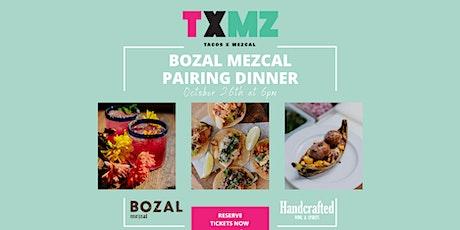 Bozal Mezcal Pairing Dinner tickets