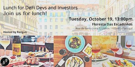 Lunch for DeFi Devs and Investors bilhetes