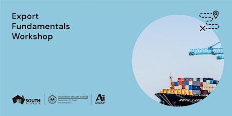 Export Strategy & Planning Workshop- Adelaide 10 Nov 21 tickets