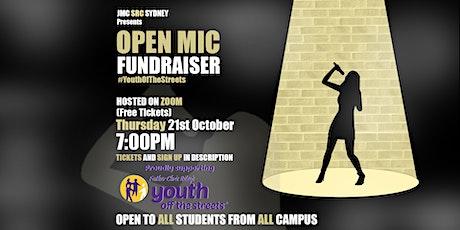 Open Mic Night + Fundraiser tickets