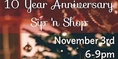 10th Anniversary Christmas  Shopping Kick Off tickets
