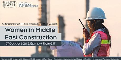 Women in Middle East Construction tickets