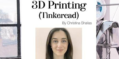 Intro to 3D Printing (Tinkercad) tickets