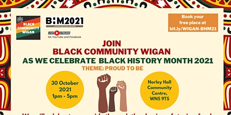 Black History Month  Celebration 2021 (Wigan) tickets