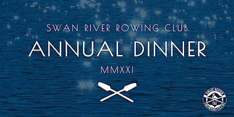 SRRC 2021 Annual Dinner tickets