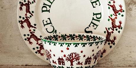 Christmas Pottery Painting: Winter Season tickets