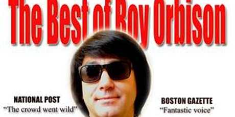 Tropical Acres dinner tribute with Roy Orbison and Bobby Darin tickets
