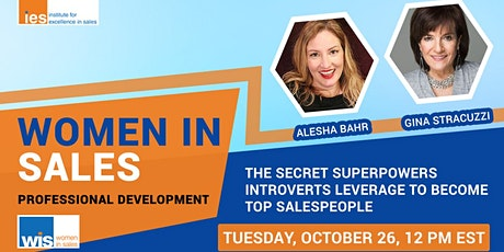 WOMEN IN SALES: Superpowers Introverts Leverage to Become Top Salespeople tickets