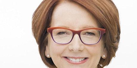 Julia Gillard speaks ALP Abroad on The World Post Covid. tickets