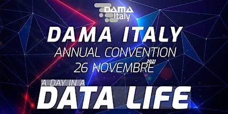 DAMA Italy Annual Convention 2021 biglietti