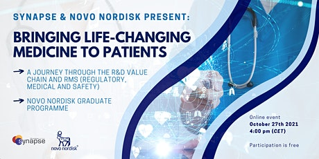 Synapse x Novo Nordisk: Bringing Life-changing Medicine to Patients tickets