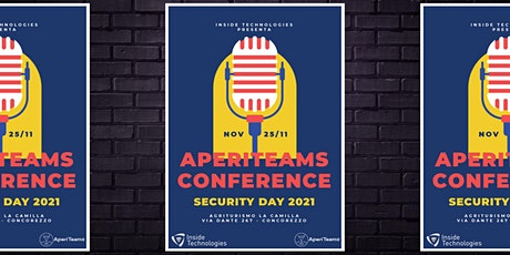 AperiTeams Conference - Security Day 2021 biglietti