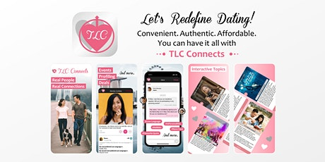 The Revolutionary Social Platform That Redefines Dating - TLC Connects tickets