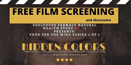 Black History Month: Free Film screening Hidden Colours 2 tickets