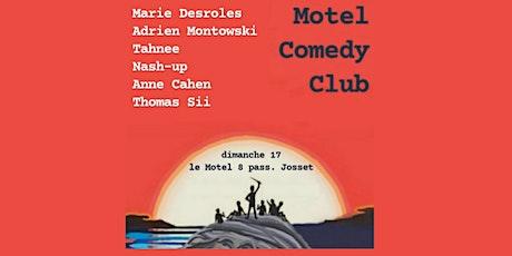 Motel Comedy 1h de standup avec Marie Desroles, Adrien Montowski, Nash &cie billets